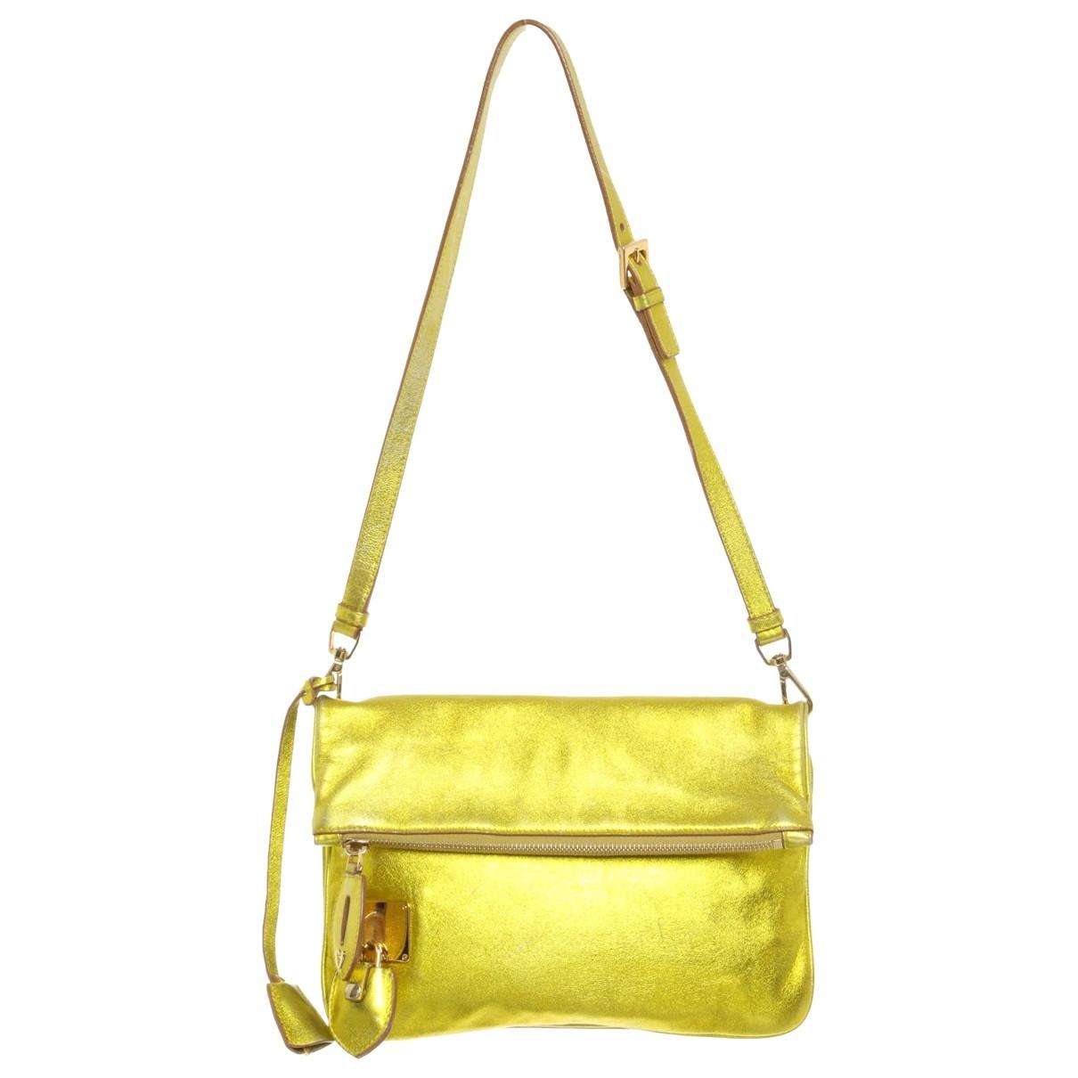 Rochas \N Gold Leather handbag for Women \N