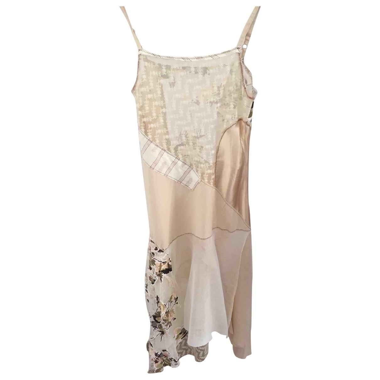 Pinko \N Multicolour Silk dress for Women 34 FR