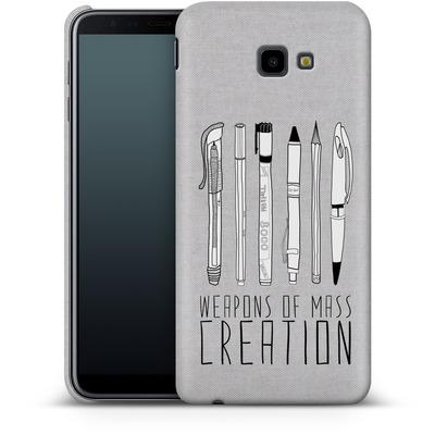 Samsung Galaxy J4 Plus Smartphone Huelle - Weapons Of Mass Creation von Bianca Green