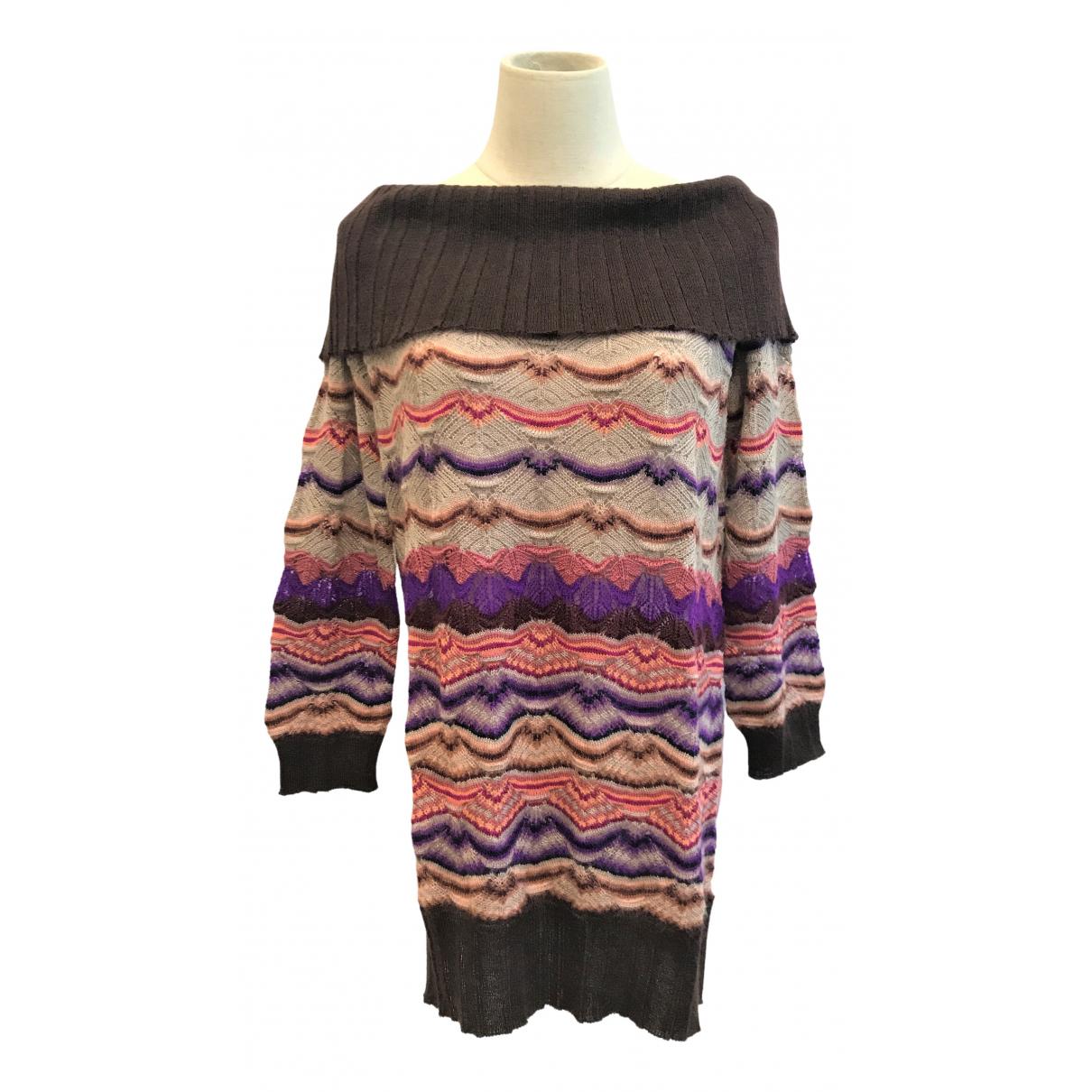 Missoni - Pull   pour femme en laine - violet