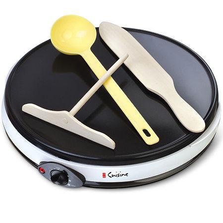 Euro-Cuisine Crepe Maker, One Size , White
