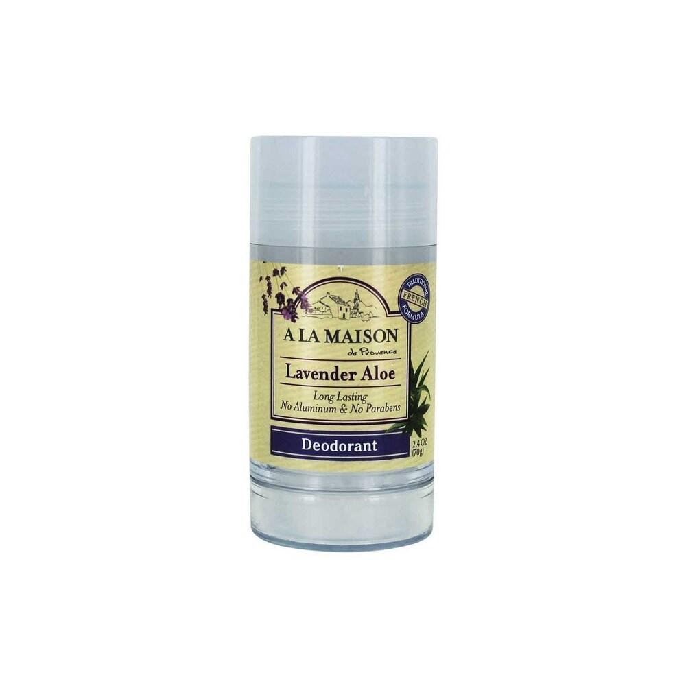 A La Maison Lavender Aloe Long Lasting Deodorant 2.4 Oz - 2.4oz (Roll-on - Active Fresh)