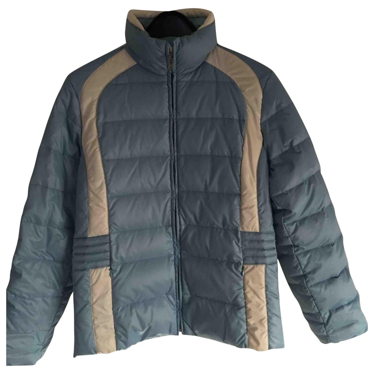 Moncler - Manteau   pour femme - bleu