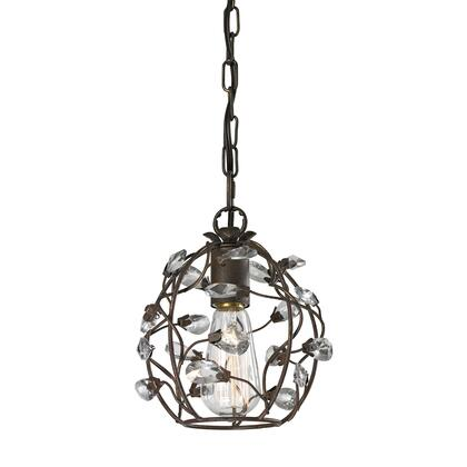 18141/1 Sagemore 1 Light Pendant in Bronze