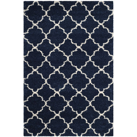 Safavieh Hudson Shag Collection Synthia Geometric Area Rug, One Size , Multiple Colors