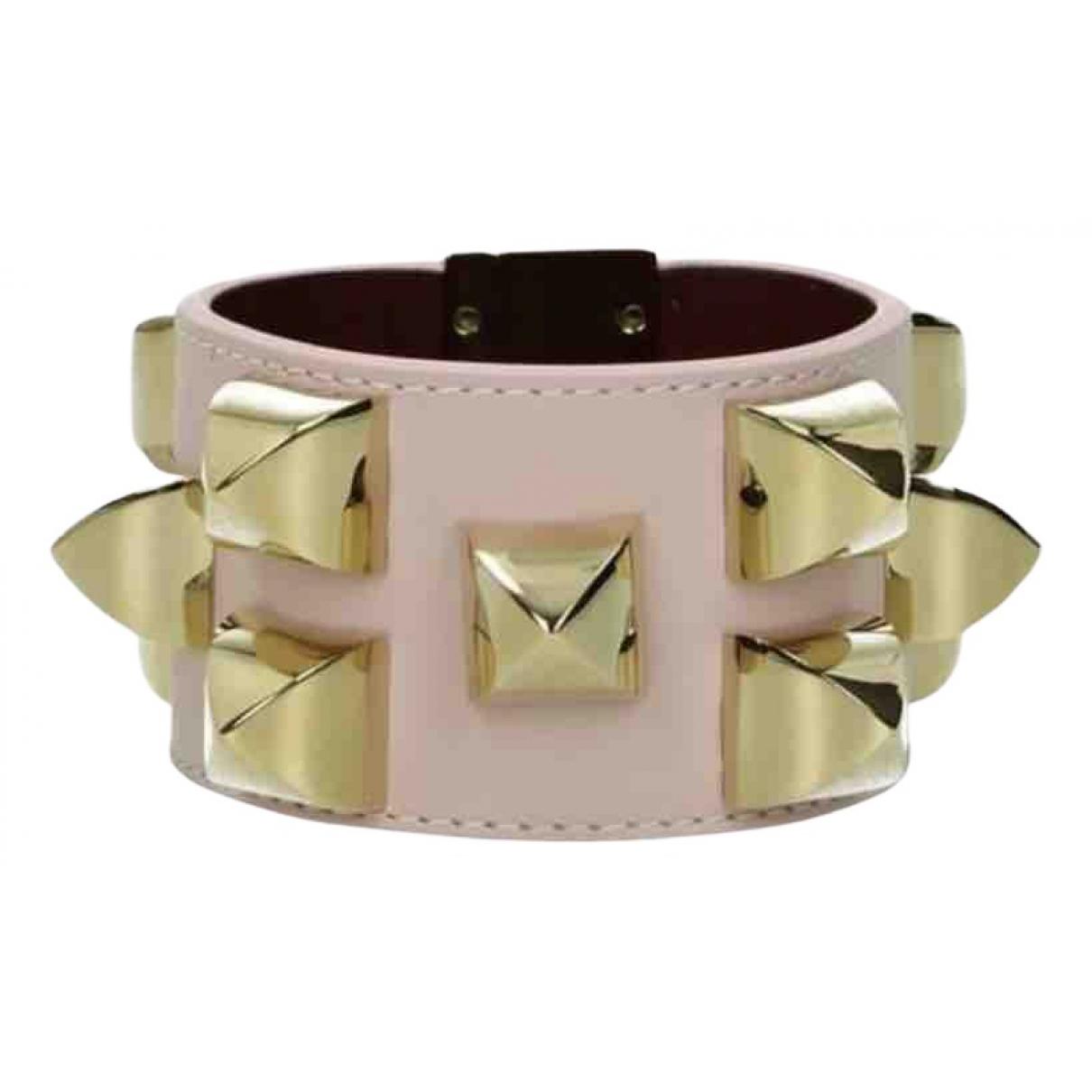 Givenchy - Bracelet   pour femme en cuir - rose
