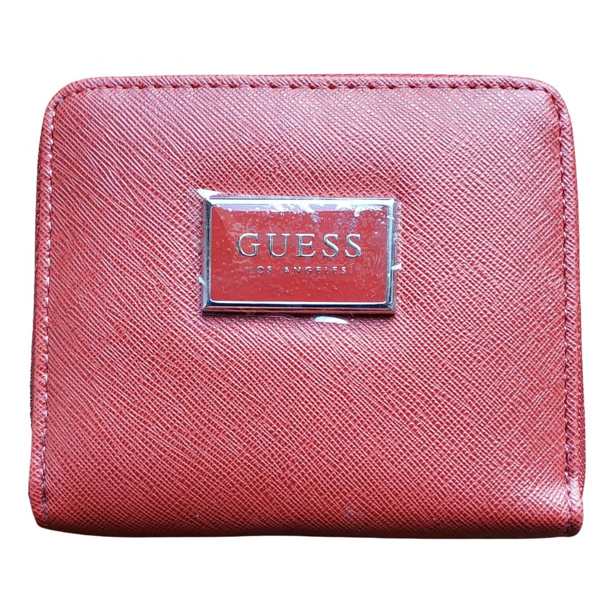 Guess \N Portemonnaie Rot