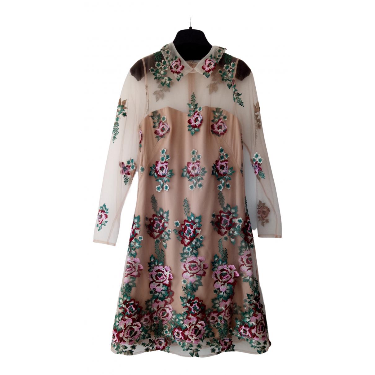 Marchesa Notte \N Kleid in  Bunt Polyester
