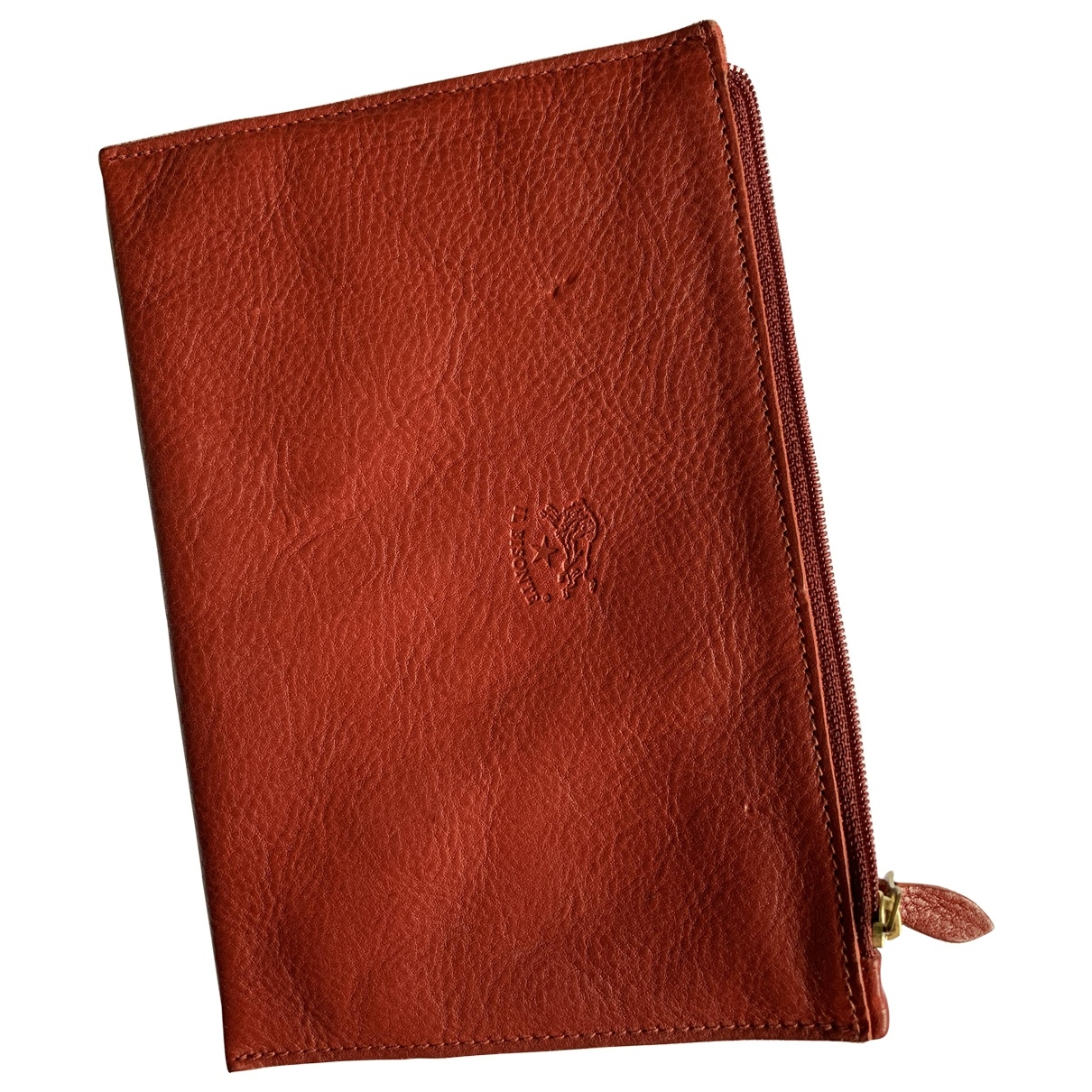 Il Bisonte \N Burgundy Leather Purses, wallet & cases for Women \N