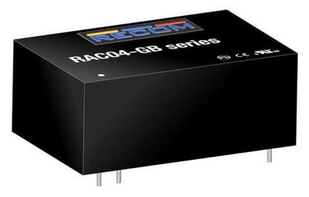 Recom , 4W AC-DC Converter, 24V dc, Encapsulated