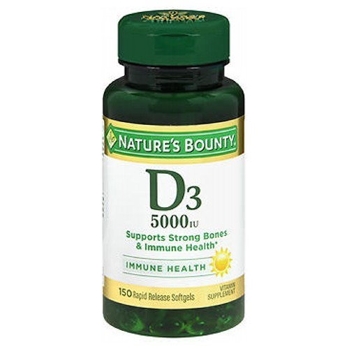 Nature's Bounty Maximum Strength D3 100 caps by Nature's Bounty
