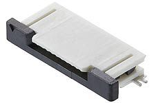 Molex 54104 Series 0.5mm Pitch 45 Way SMT Female FPC Connector, ZIF (375)