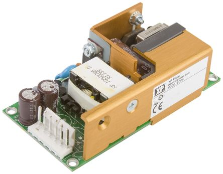XP Power , 40W AC-DC Converter, 48V dc, Open Frame, Medical Approved