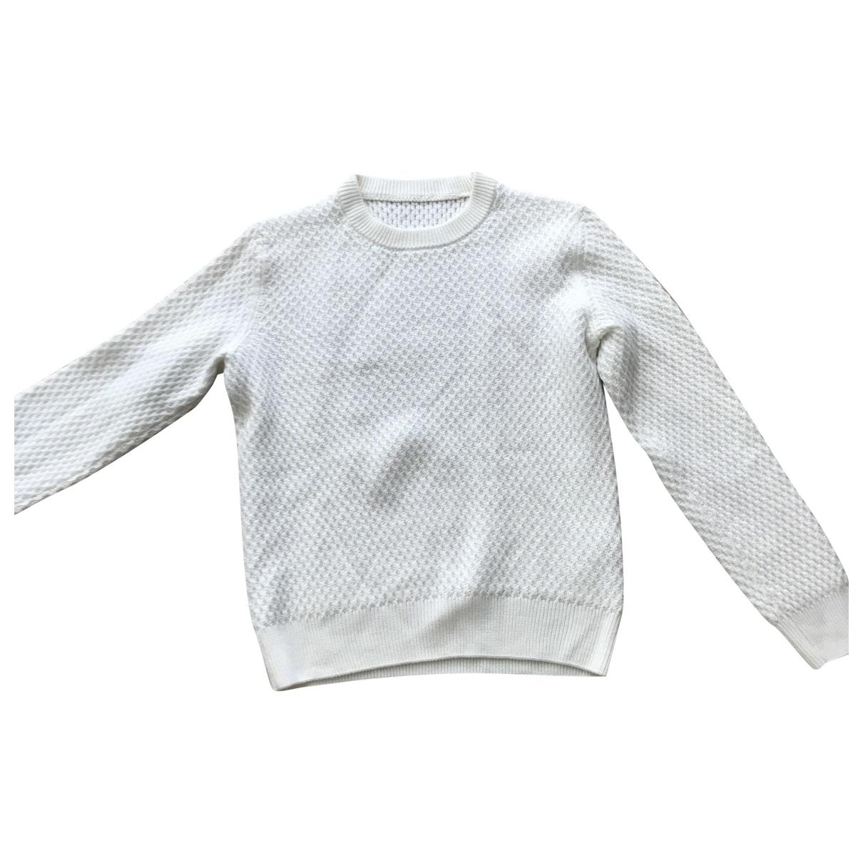 Sandro \N Pullover.Westen.Sweatshirts  in  Weiss Wolle