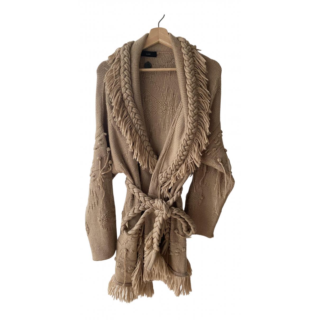 Alanui - Pull   pour femme en laine - beige