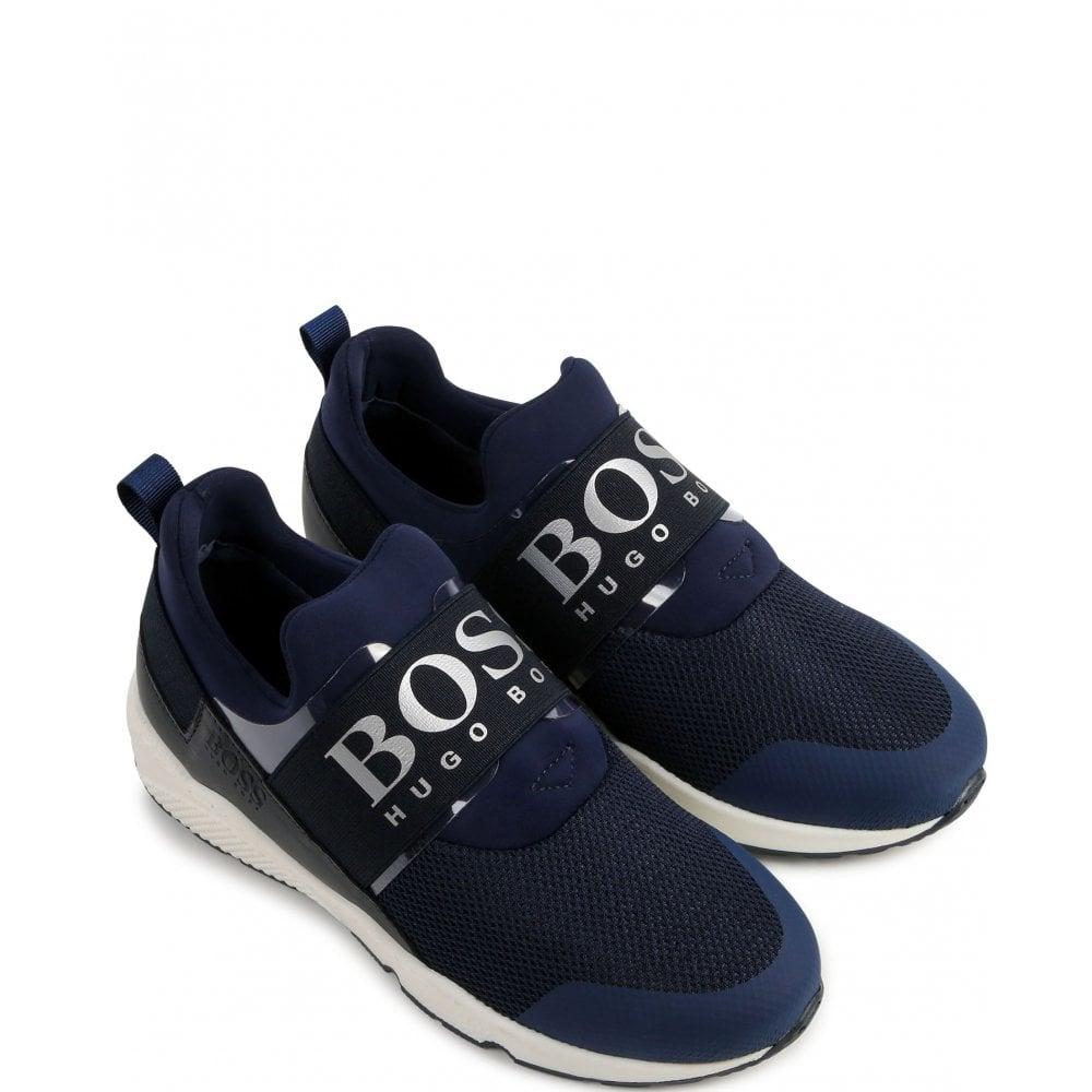 Hugo Boss Boss Trainers Colour: BLUE, Size: 40