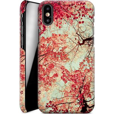 Apple iPhone XS Smartphone Huelle - Autumn Inkblot von Joy StClaire