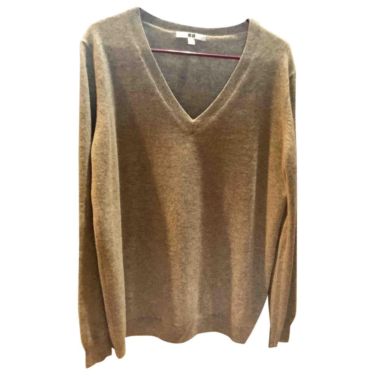 Uniqlo \N Grey Cashmere Knitwear for Women L International