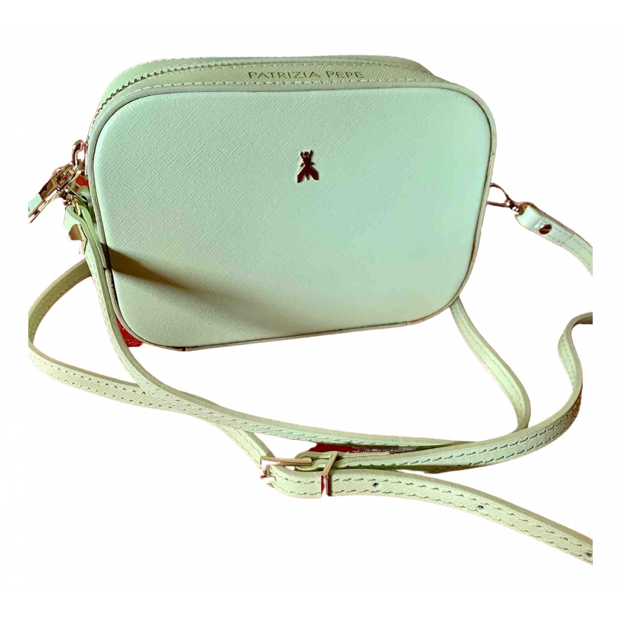 Patrizia Pepe \N Green Leather handbag for Women \N