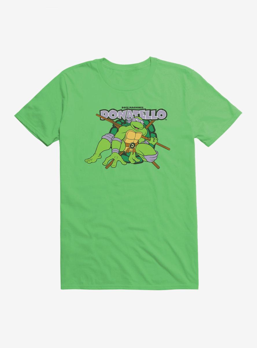 Teenage Mutant Ninja Turtles Donnie Attack T-Shirt