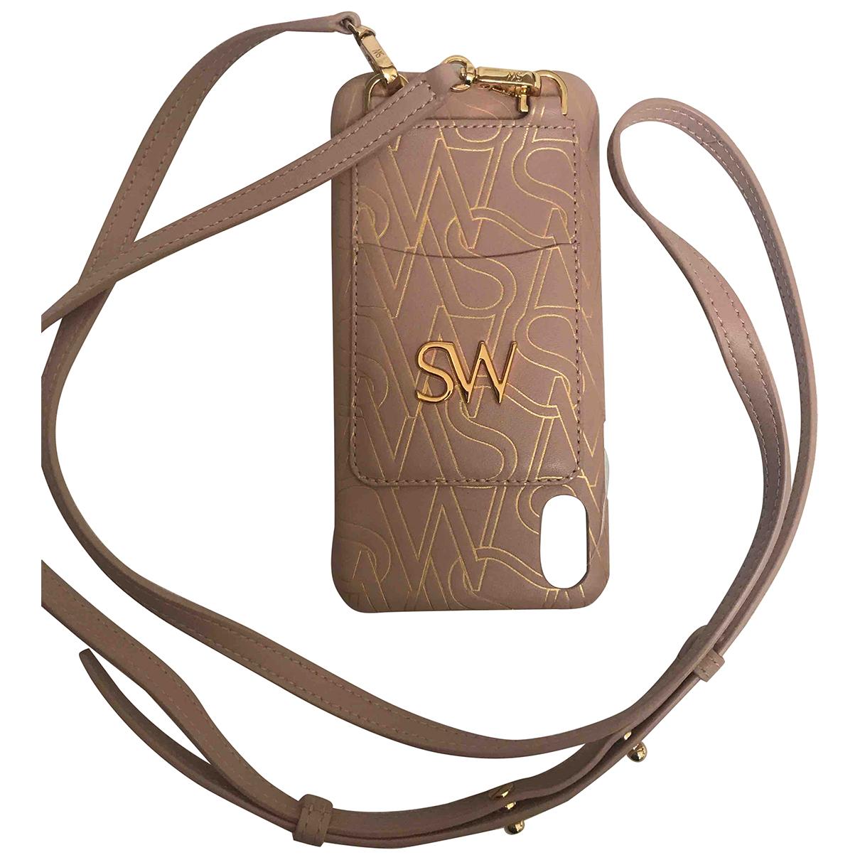 Stuart Weitzman N Pink Leather Purses, wallet & cases for Women N
