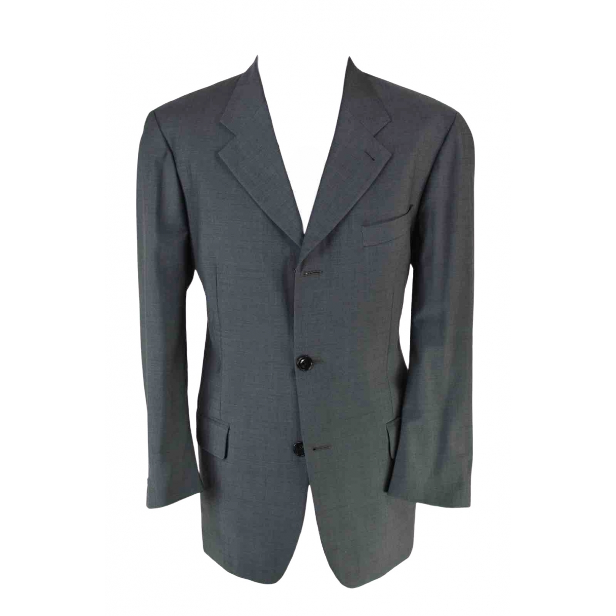 Kenzo \N Grey Wool jacket  for Men 52 IT