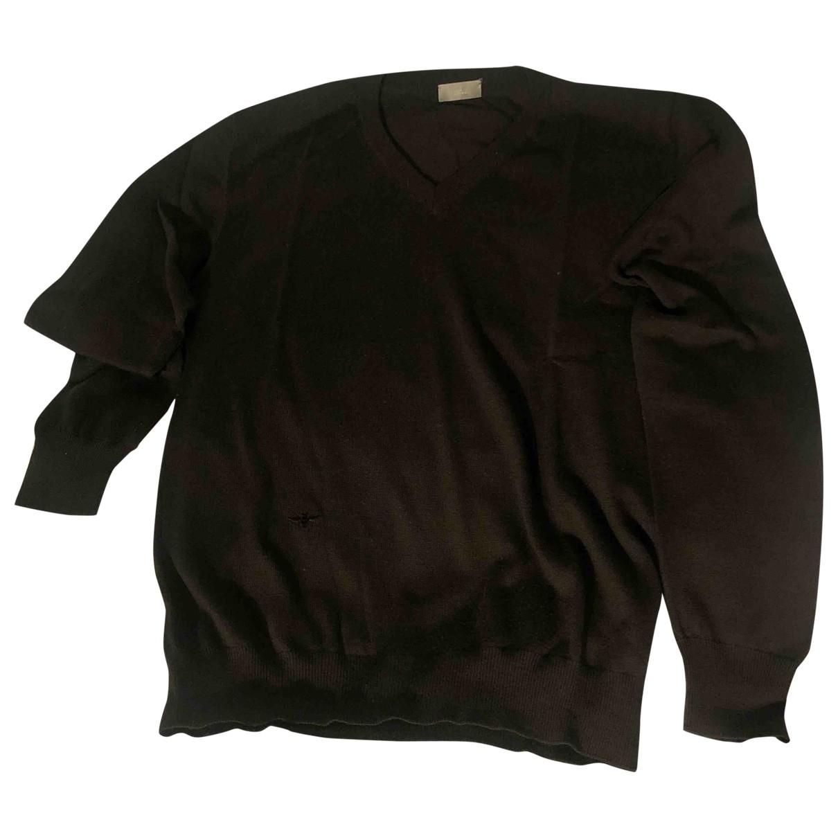 Dior Homme \N Pullover.Westen.Sweatshirts  in  Khaki Wolle