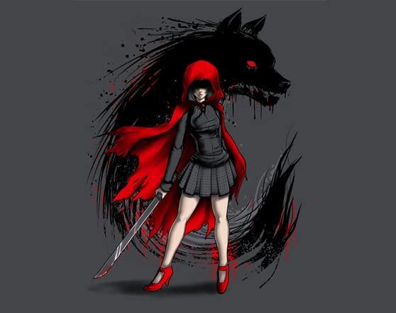 Red Revenge T Shirt