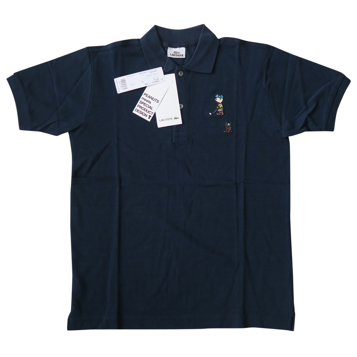 Lacoste \N Poloshirts in  Marine Baumwolle