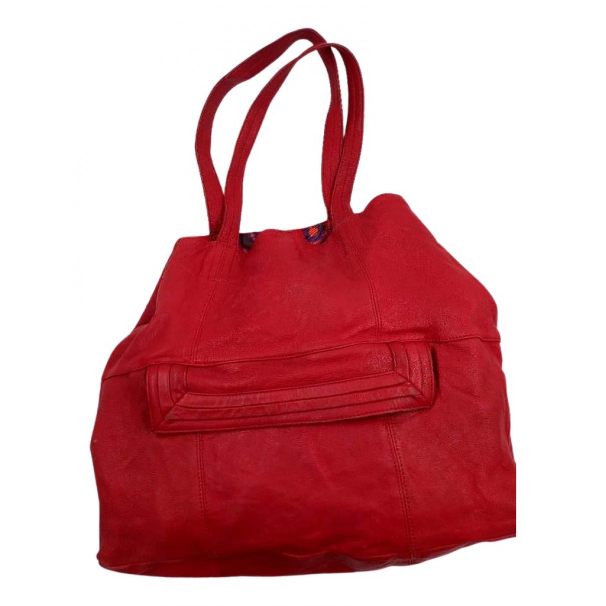 See By Chloe \N Handtasche in  Rot Leder