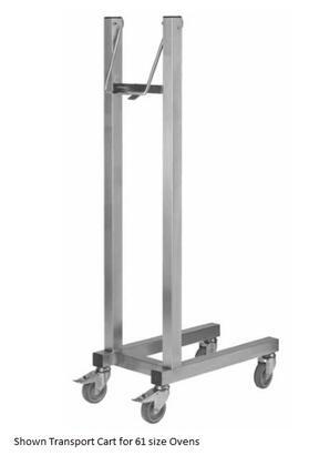 TRCART102 Transport cart for 102 size BCT  BCM Series Blodgett