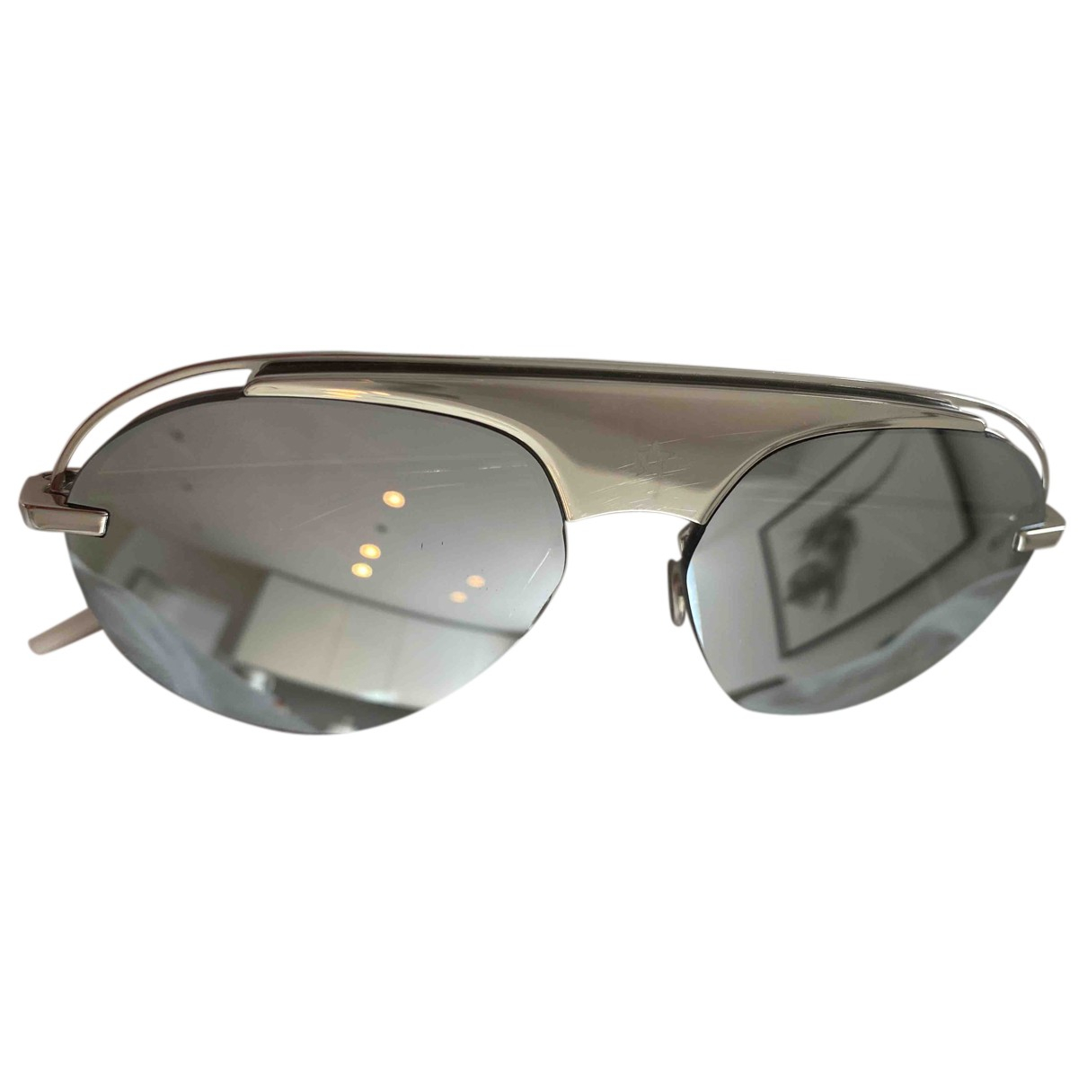 Christian Dior N Metallic Metal Sunglasses for Women N
