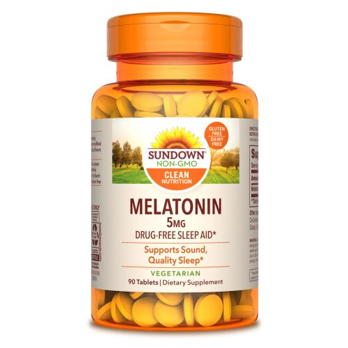 Sundown Naturals Sublingual Melatonin Liquid 24 X 2 Oz by Sundown Naturals