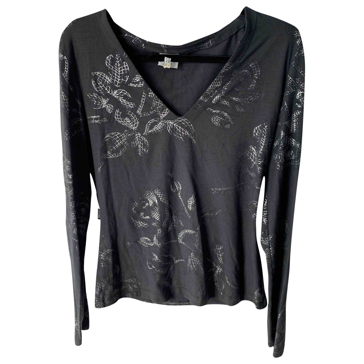 Moschino \N Anthracite Cotton  top for Women 46 IT