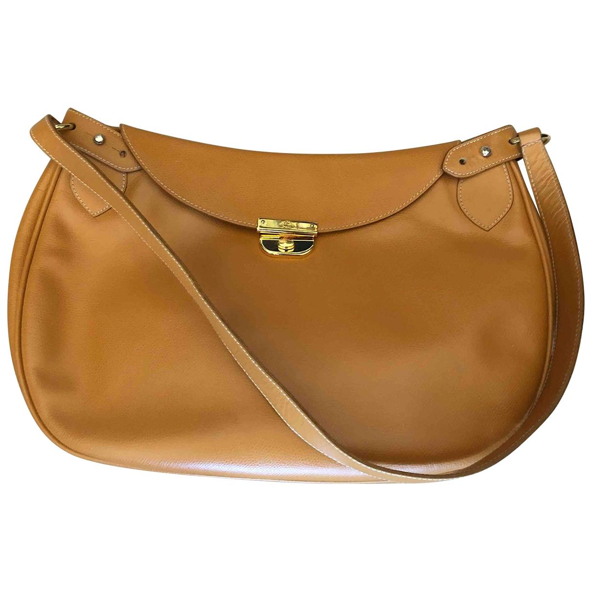 Etro \N Handtasche in  Gelb Leder