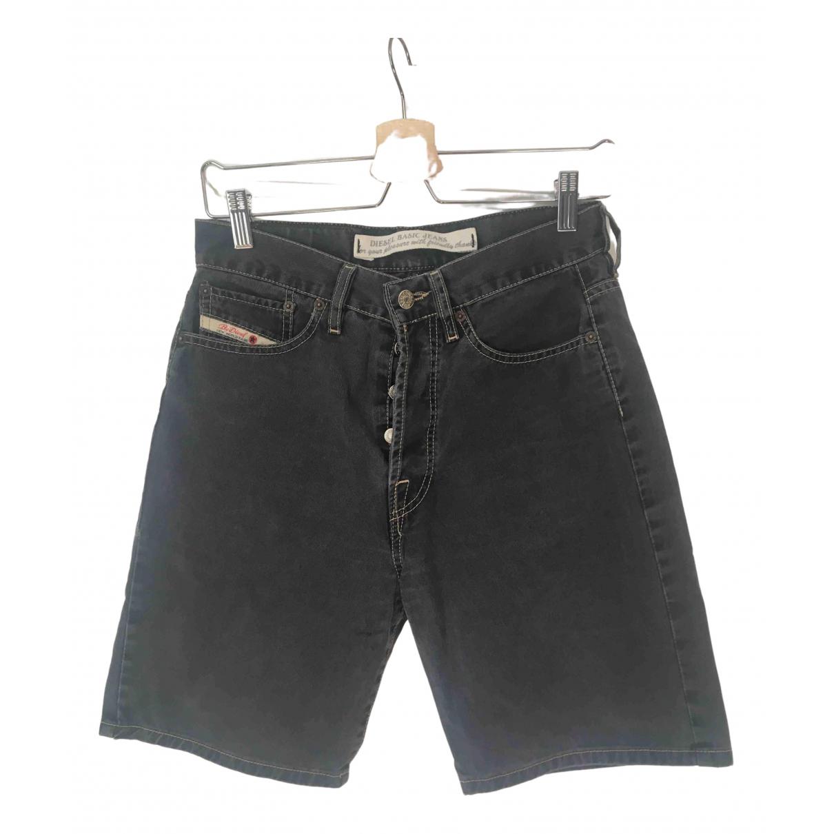 Diesel \N Shorts in  Anthrazit Denim - Jeans