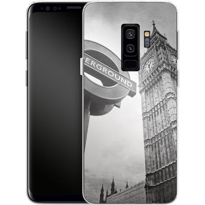 Samsung Galaxy S9 Plus Silikon Handyhuelle - Big Ben & Underground von Ronya Galka