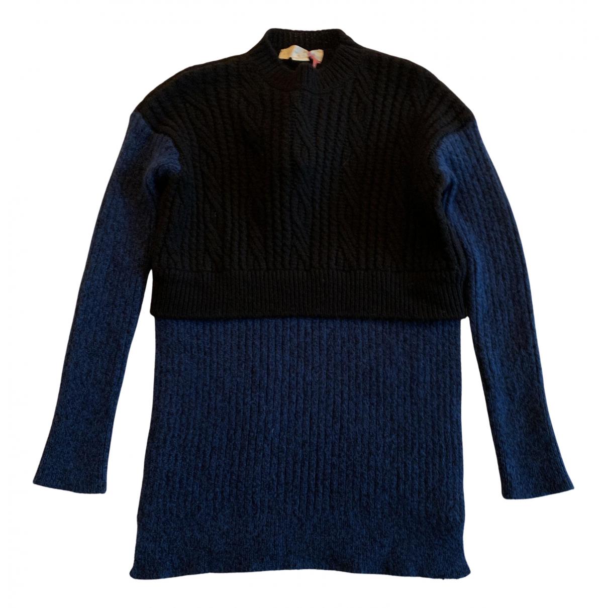 Stella Mccartney N Navy Wool Knitwear for Women 38 IT