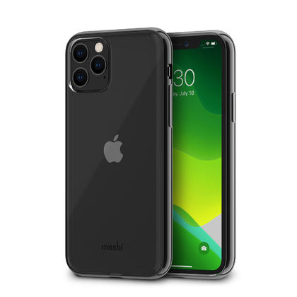 Vitros Clear Case Raven Black iPhone 11 Pro - Moshi