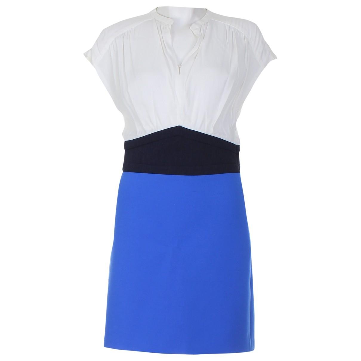 Maje \N Multicolour Wool dress for Women 36 FR