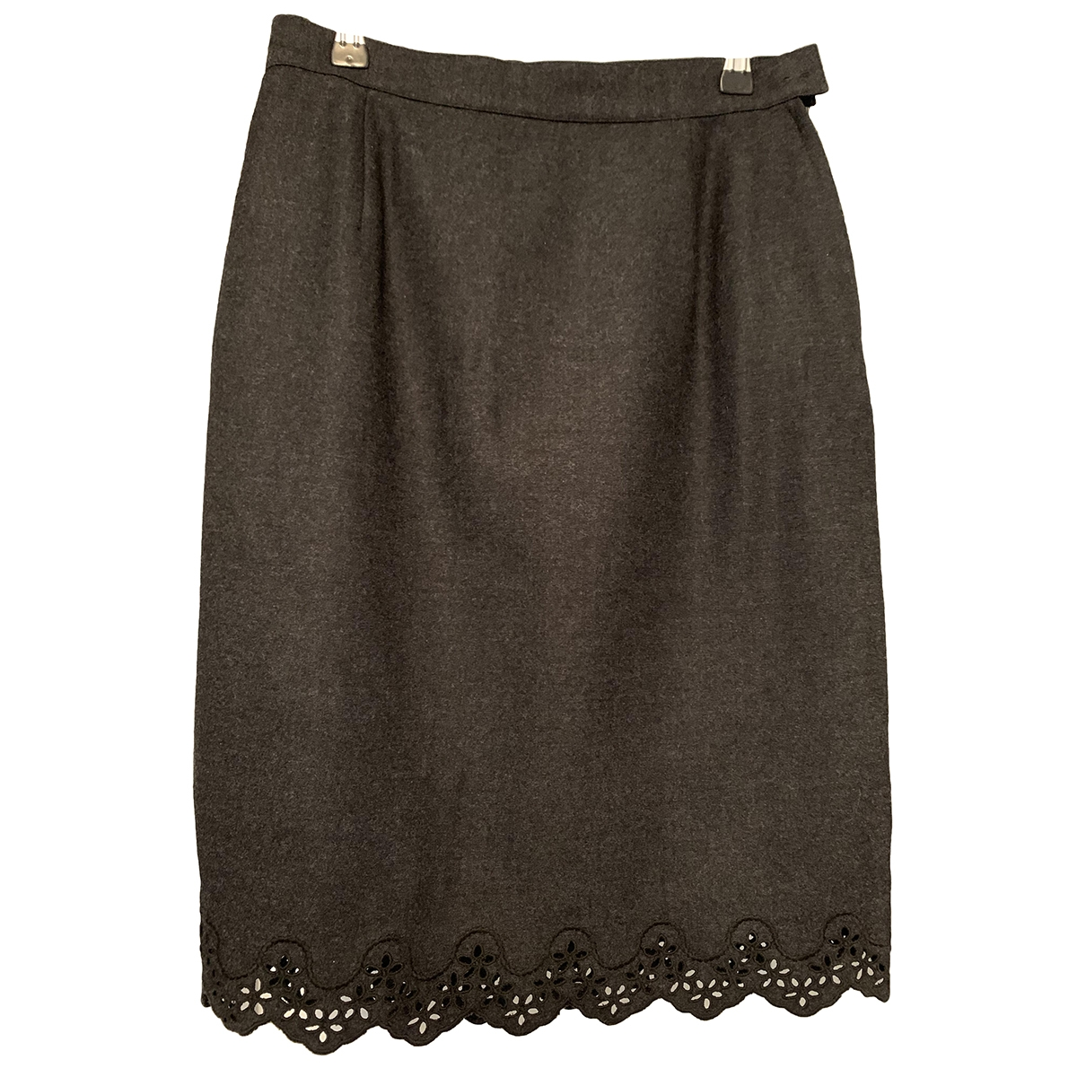 Cacharel \N Grey Wool skirt for Women 40 FR