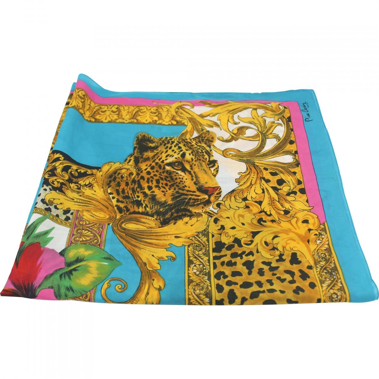 Pierre Cardin \N Multicolour Silk handkerchief for Women \N