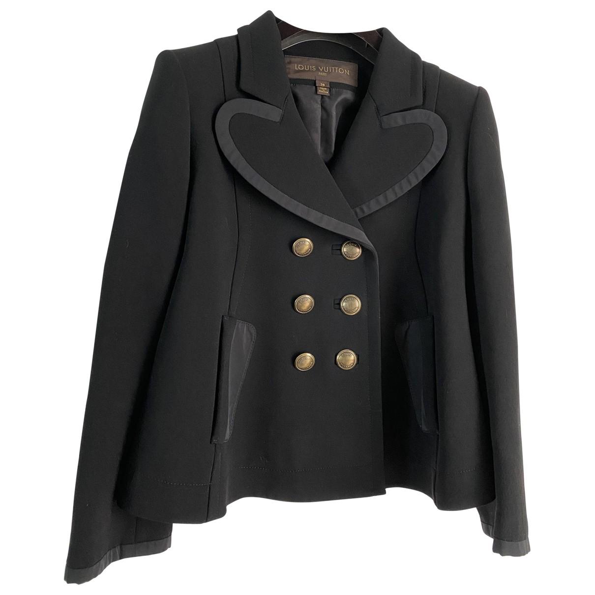 Louis Vuitton - Veste   pour femme en soie - noir