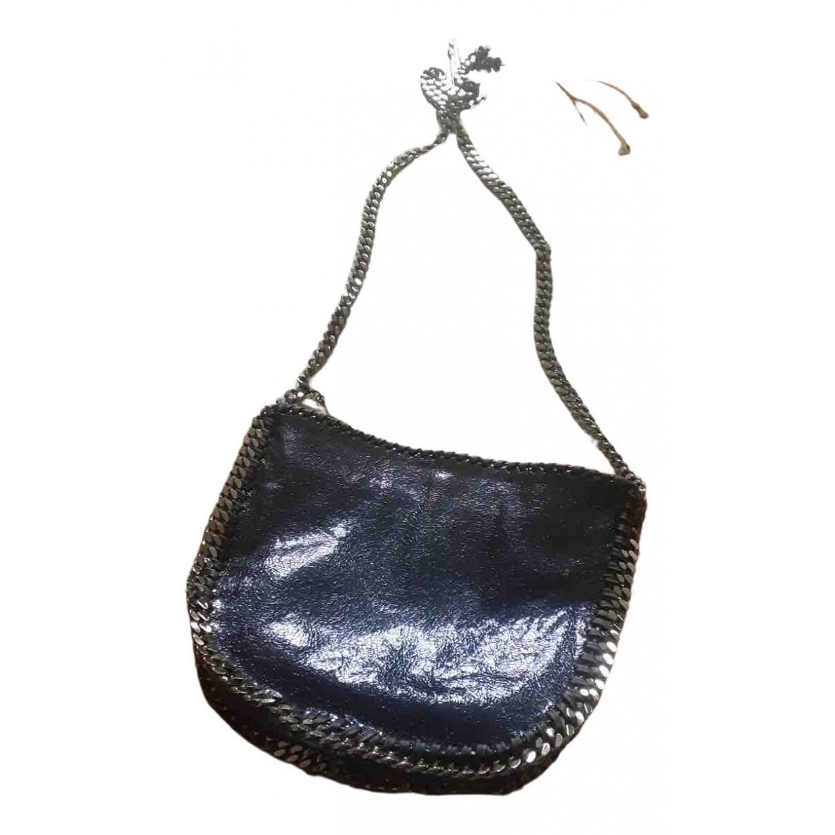 Stella Mccartney \N Handtasche in  Marine Synthetik