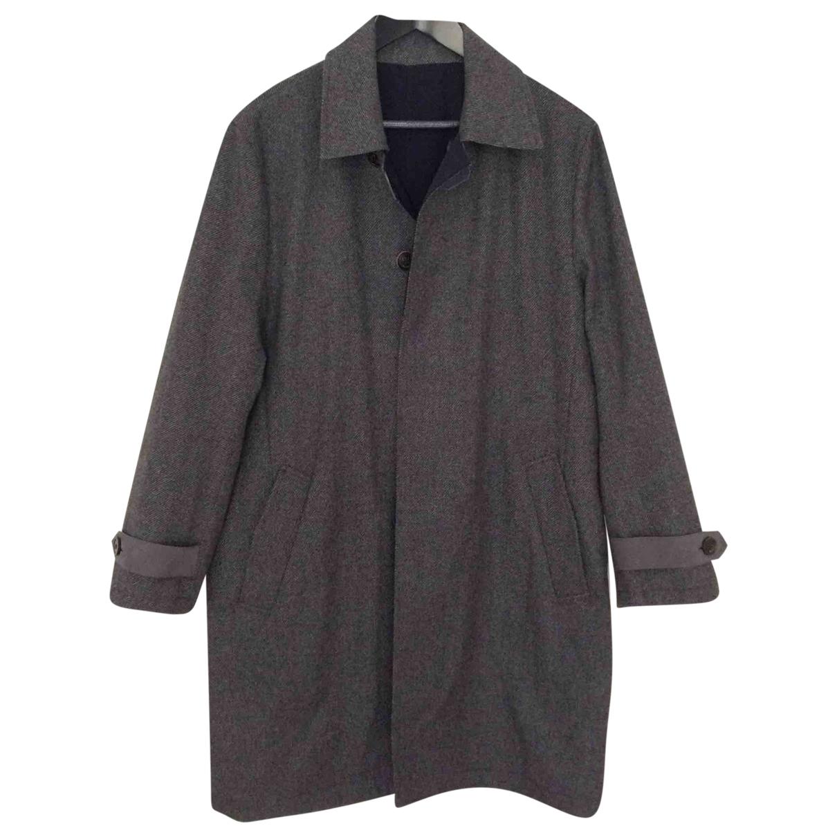 Berluti \N Anthracite Cashmere coat  for Men 48 FR