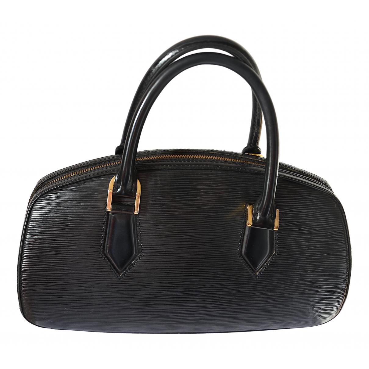Louis Vuitton Pont Neuf Vintage  Black Leather handbag for Women \N