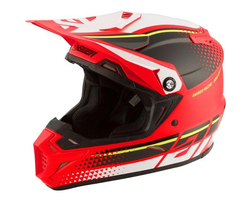 Answer 444382 AR5 Korza Helmet Red Black White XL