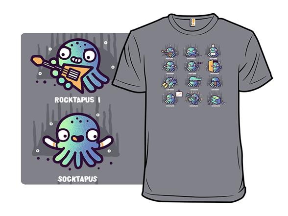 Octopuns T Shirt