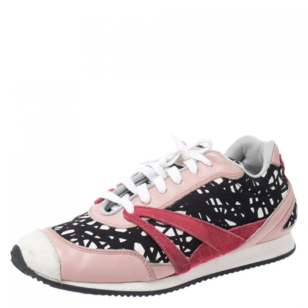 Balenciaga \N Sneakers in  Bunt Leinen
