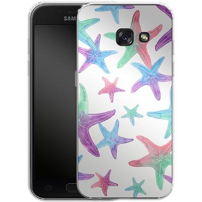 Samsung Galaxy A3 (2017) Silikon Handyhuelle - Starfish Print von Becky Starsmore